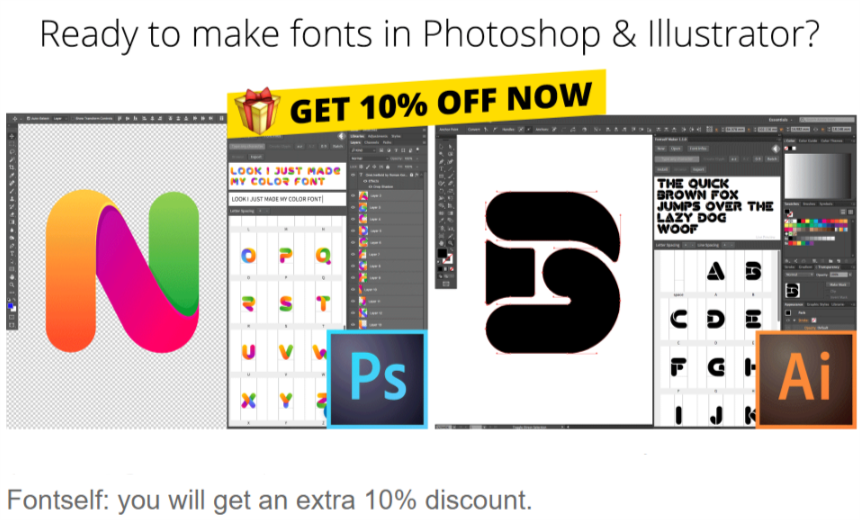 fontself coupon